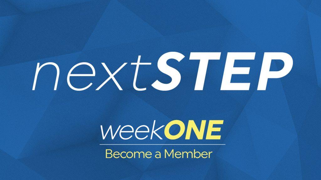 Next Step Week 1