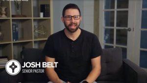 Update from Pastor Josh