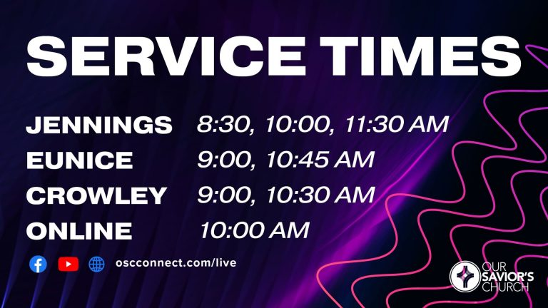 Regathering Service Times