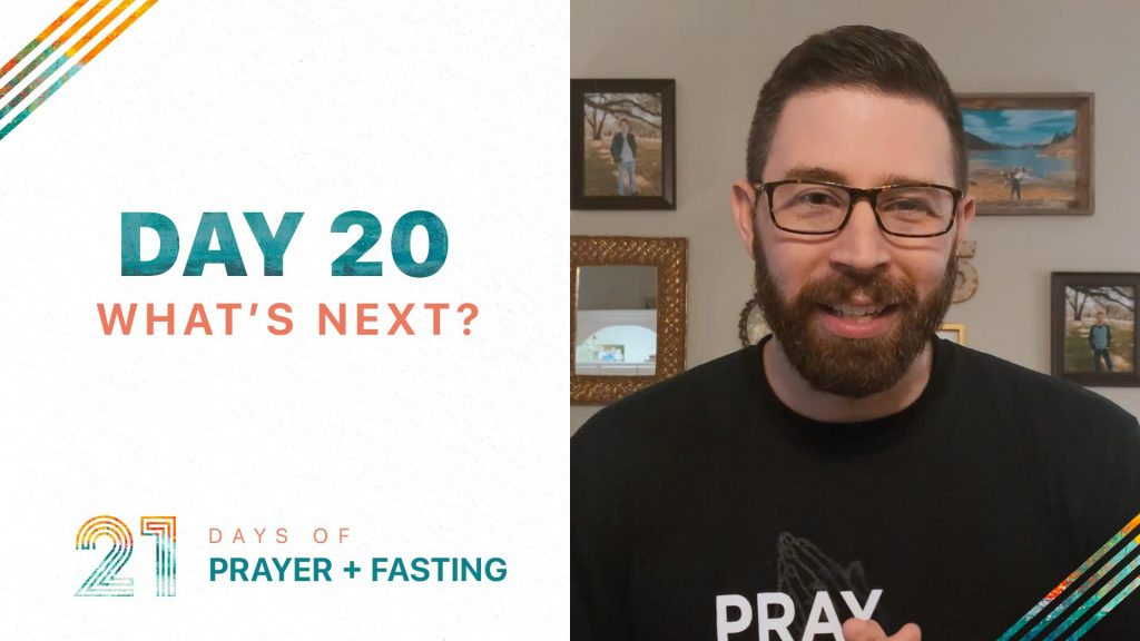 Day 20 - What's Next?