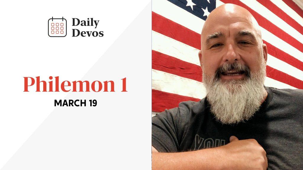 March 19   Philemon 1