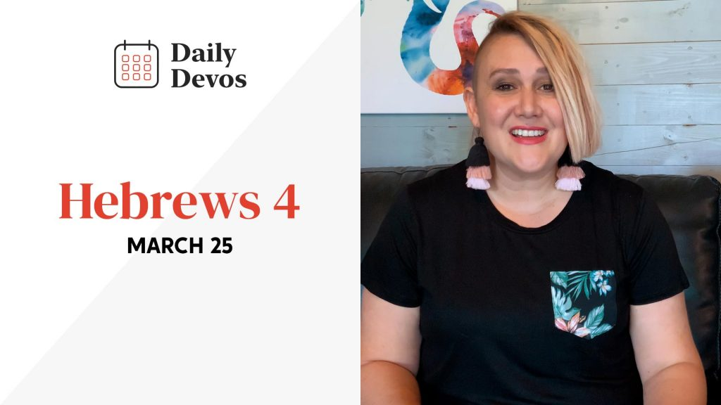 Hebrews 4   March 25
