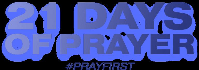 21 Days of Prayer August 2021