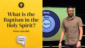 What is the Baptism in the Holy Spirit? - Jennings
