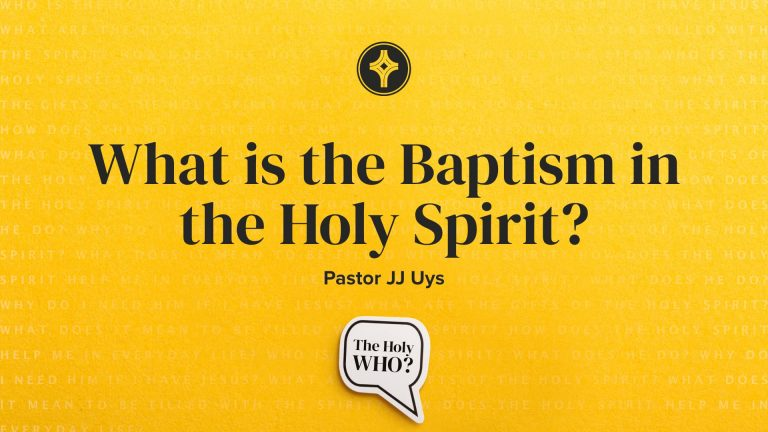 What is the Baptism in the Holy Spirit? - Crowley