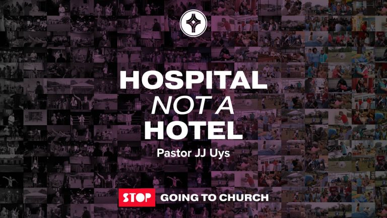 Hospital not a Hotel - Crowley