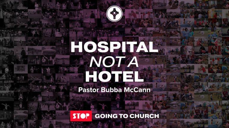 Hospital not a Hotel - Eunice