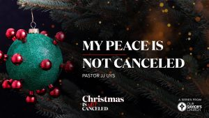 My Peace is Not Canceled-Crowley