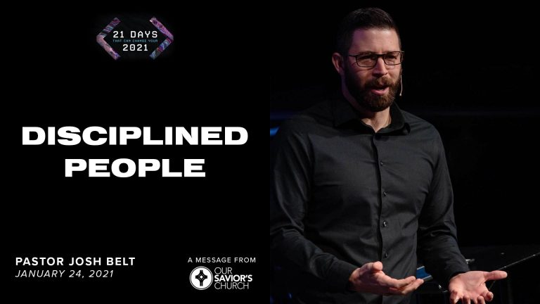 Disciplined People