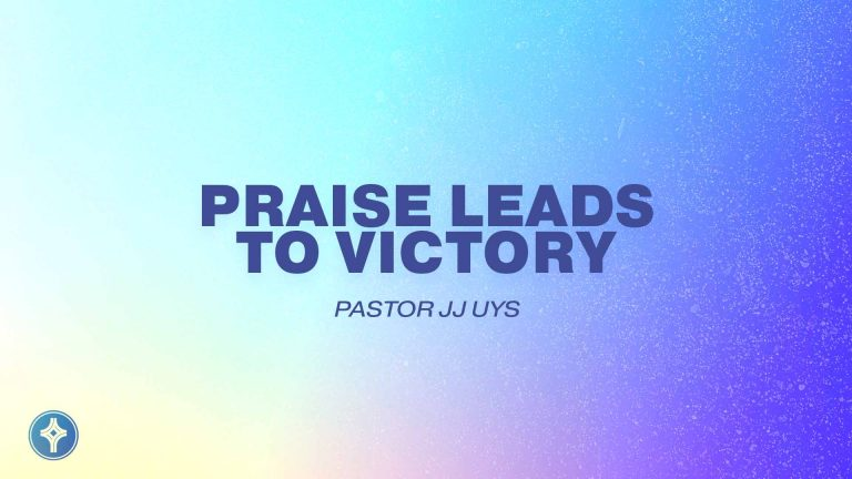 Praise Leads to Victory-Crowley