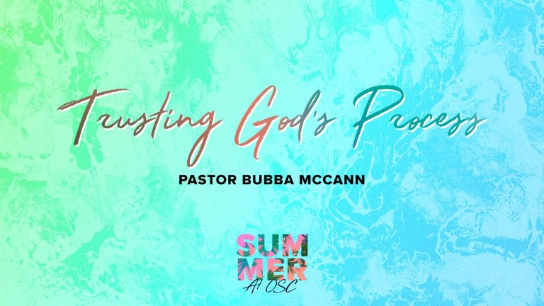 Trusting God's Process-Eunice